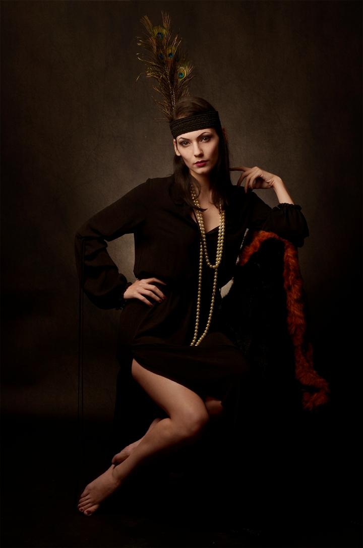 Ritratto fotografico fine art tema anni '20 – MissFisher